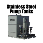 Stainless Steel Pump Tanks